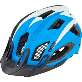 Cube Quest Kask, blue/white/black